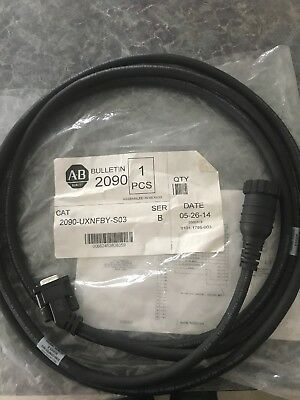 Allen Bradley 2090-UXNFBY-S03- New Cable