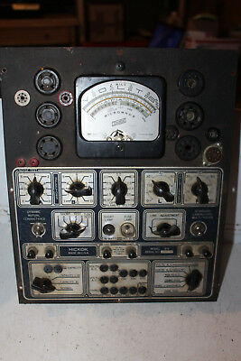 Vintage Hickok Multi Tube Tester Radio Model 51X Rare