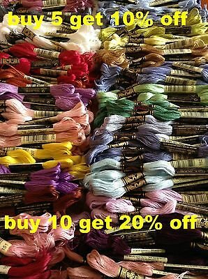 DMC Mouliné Stranded Cotton Thread 991 - 3733 Free Postage when you buy 3+
