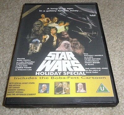 Star Wars Holiday Special DVD - artwork and case