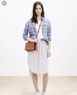 Madewell The Twin Pouch Colorblock Crossbody Bag Clutch