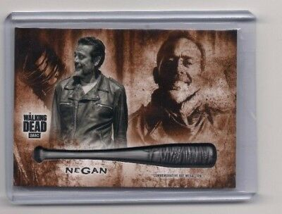 Walking Dead Hunters & Hunted Negan Commemorative Bat Medallion #/99! Walmart Ex