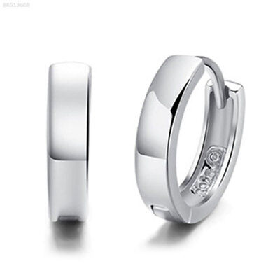 9397 Fashion Men Women 925 Sterling Silver Plated Studs Earrings Hoop Huggie