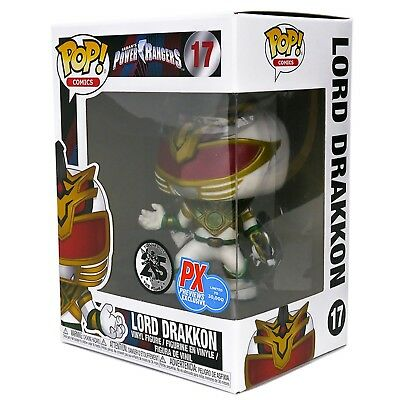 Funko Pop Comics MMPR Power Rangers Lord Drakkon Px Previews #17 - In Stock New