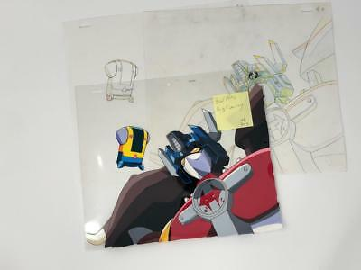Transformers Japanese Beast Wars Neo Big Convoy Animation Art Cell Lot 393