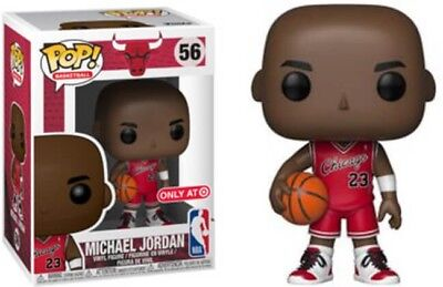 NBA Funko Pop! #56 Michael Jordan Chicago Bulls Rookie Target Exclusive PRESALE