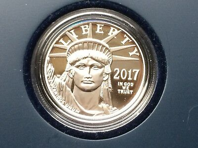 2017 American Eagle Platinum Proof Coin - original purchaser