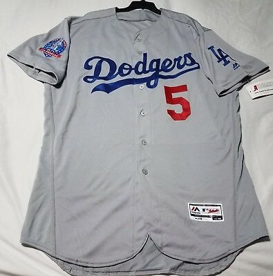 AUTHENTIC, 48 XL, LOS ANGELES DODGERS, COREY SEAGER, FLEX / COOL BASE Jersey
