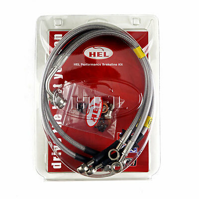 FULL KIT HEL Performance Brake Lines Hoses For Land Rover 110 2.5TD (1986-1990)