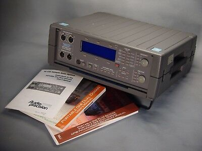 Audio Precision Portable One Dual Domain 96 kHz , IMD , GPIB & filter options *