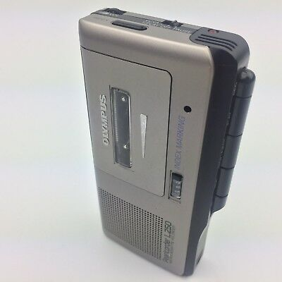 Olympus Pearlcorder L250 Microcassette Recorder Dictation Voice Recorder Tested