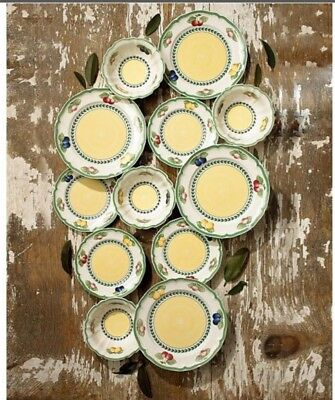 Villeroy and Boch French Garden Set of 4 salad plates
