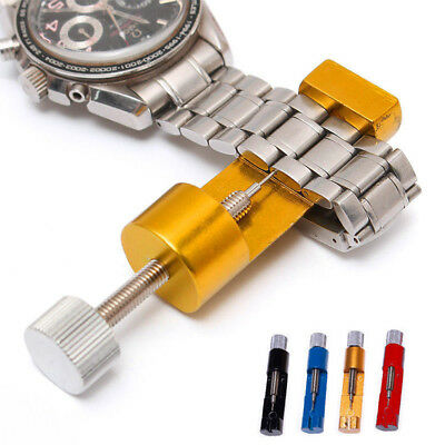 New Metal Adjustable Watch Band Strap Bracelet Link Pin Remover Repair Tool Kit