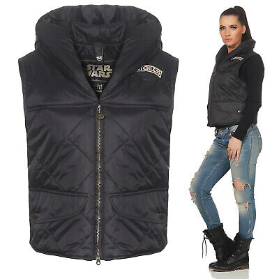 Matchless Star Wars Gilet Femme Leia Gilet Noir 720500 Taille (44) M