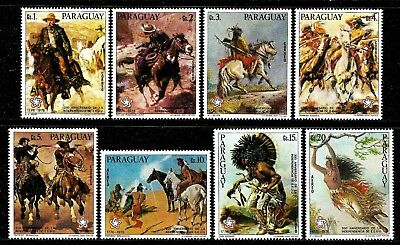 PARAGUAY 1976 Mint Painting Stamps - American Bicentennial
