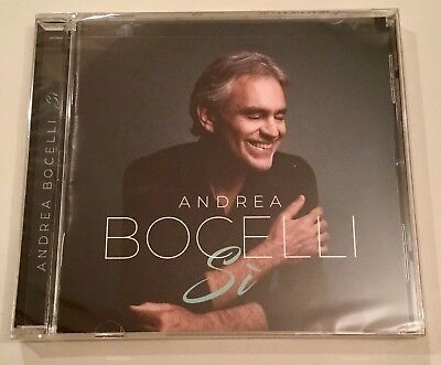 - Brand New Sealed!!!! - Andrea Bocelli - Si - Album Cd 2018 - Universal Music -