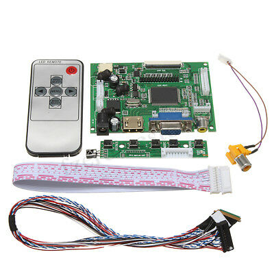 VGA LVDS LCD Controller Driver Board Kit For LP156WH4(TL)(A1) 1366x768 LED