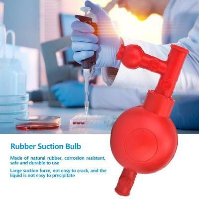Lab High Quality Rubber Suction Bulb Safe Pressure Quantitative Pipette Filler