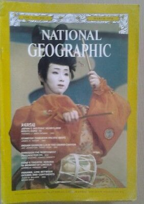 National Geographic Magazine March 1970