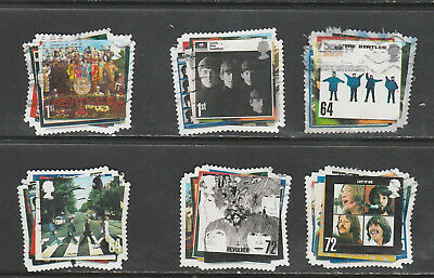 2007 Commemoratives Set  The Beatles Issue , Used 110119