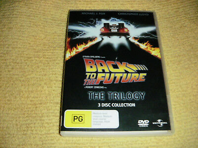 BACK TO THE FUTURE 1 2 3 TRILOGY = 3 DVD near NEW comedy part i ii iii R4