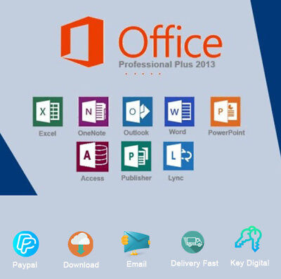 Office 2013 Professional 32-64bit Key Download Link Activation Genuine
