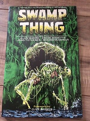 Swamp Thing Volume 2 Alan Moore.UK First Edition 1987