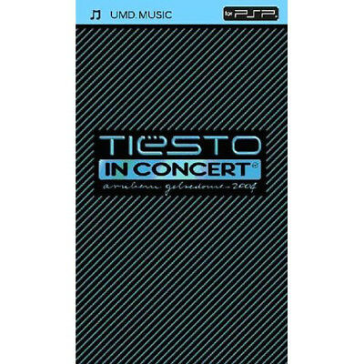 Tiesto In Concert 2004 (UMD) - Playstation Black Hole