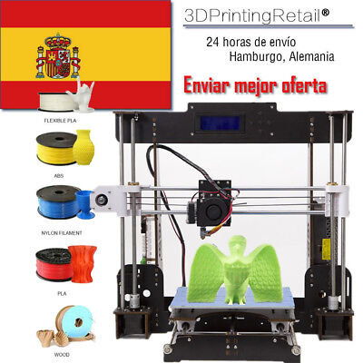Impresora 3D Prusa I3 Upgrade CTC 3D Printer - 220*220*240 mm -Fácil de monta ES