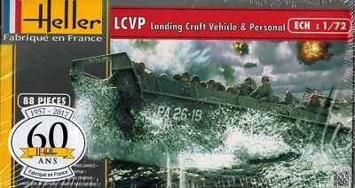 Heller 79995 - LCVP Landing Craft Vehicle & Personal - 1:72