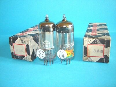 2x of 3A5 / DCC90 RCA JRC tube NEW ! Valvola lampe. AVO163 tested