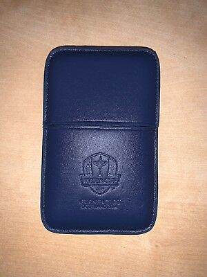 New 2014 Ryder Cup Golf At  Gleneagles Scotland Credit Card Holder