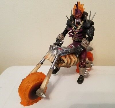 Toy Biz Marvel Legends Legendary Riders Series Vengeance With Hell Cycle Loose