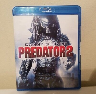 Predator 2 With Exclusive Featurettes Plus T.v.spots Blu-Ray Only
