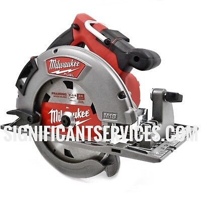 "New Milwaukee 2732-20 M18 FUEL™ HD HIGH OUTPUT 7-1/4"" Cordless Circular Saw"
