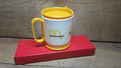 Vintage Mcdonald's Dash Board Coffee Cup~Travel Cup ~Whirley Ind. Usa