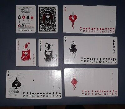 Emily the Strange Deck Playing Cards Dark Horse Comics Debris Inc RARE