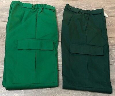 Green ambulance paramedic NHS uniform work trousers Dunn & Co NEW