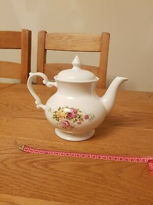 Vintage Floral Teapot Perfect for Weddings, Tea Parties, Afternoon Tea etc