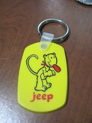 Popeye's pal  EUGENE the JEEP  key chain