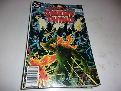 Saga of Swamp Thing # 20--1st Alan Moore issue--1984--VF/VF-Condition