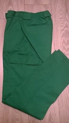 Ladies green ambulance paramedic NHS hospital uniform work trousers Size 6-8-10