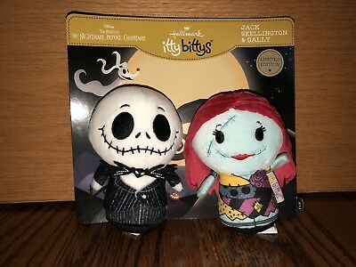 Hallmark Itty Bittys The Nightmare Before Christmas Jack & Sally Limited Edition