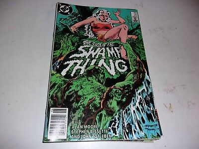 Saga of Swamp Thing # 25--Jason Blood appearance--Alan Moore--1984--VF Condition