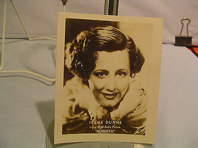 Irene Dunne,1935,Studio Photo Fan Mail,Vintage Classic,Major Star, RKO Radio Pi