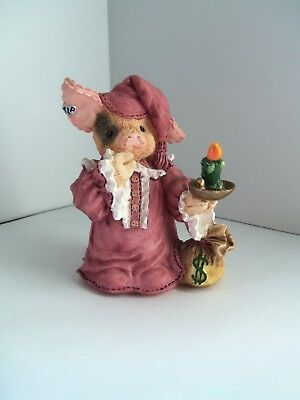 Enesco-TLP (This Little Piggy)-Christmas Holiday Scrooge-Item #145823-Preowned