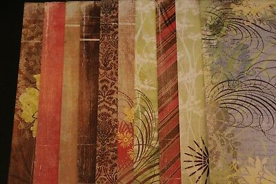 """Basic Grey """"Urban Couture"""" (18) Sheets Single-sided Papers 12 X 12 - NEW"""