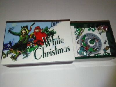 MR CHRISTMAS Gold Label MATCHBOX Melodies Music White Christmas