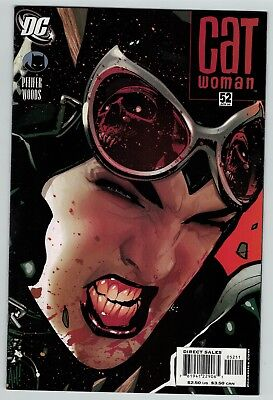 Catwoman 52 Adam Hughes cover DC Comics 2006 hot book VF-
