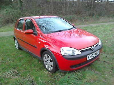 Vauxhall Corsa 1.2 Sxi 16V Hatch Low Miles Nice Car Trade Sale Clearance